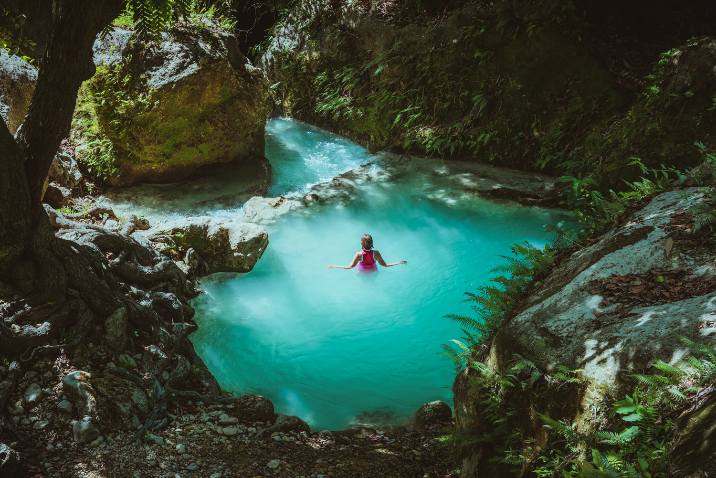 Inambakan Falls, Ginatilan, Cebu, Philippines. Photo: Chilby Photography (https://chilby.com.au), ©www.thingstodot.com.