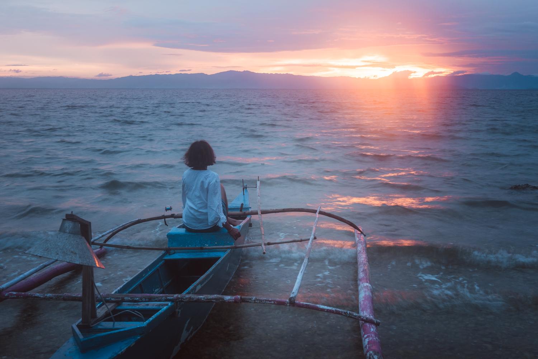 Sunset, Samboan, Cebu, Philippines. Photo: Brad Chilby (https://chilby.com.au), ©www.thingstodot.com.