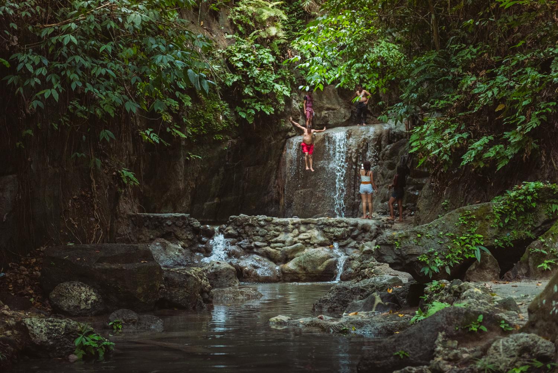 Binalay Hidden Falls, Samboan, Cebu, Philippines. Photo: Brad Chilby (https://chilby.com.au), ©www.thingstodot.com.