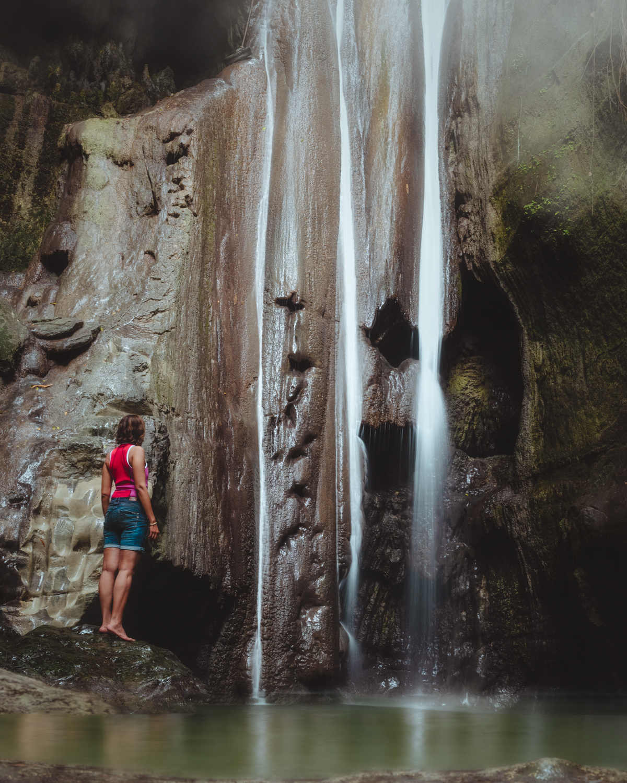 Binalay Hidden Falls, Samboan, Philippines. Photo: Brad Chilby, (https://chilby.com.au). ©www.thingstodot.com.