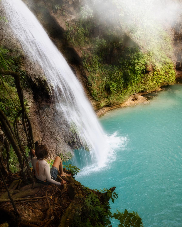 Kawasan Falls, Badian, Cebu Philippines. Photo: Brad Chilby, (https://chilby.com.au). ©www.thingstodot.com.