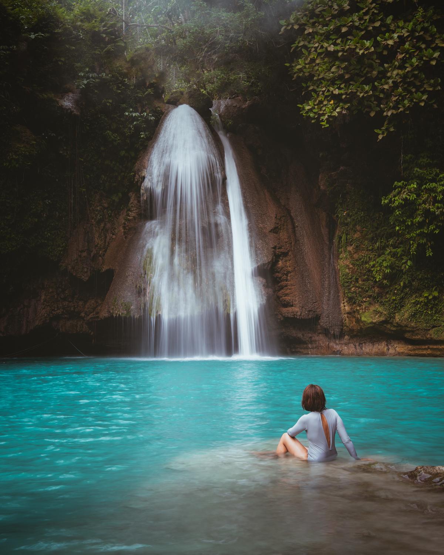 Kawasan Falls, Badian, Cebu, Philippines. Photo: Brad Chilby (https://chilby.com.au/). Photo©www.thingstodot.com.