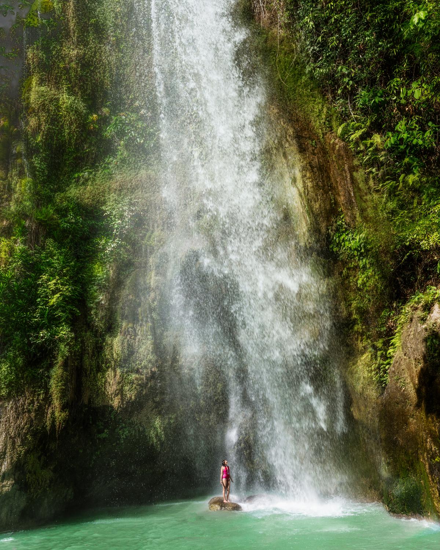 Inambakan Falls, Ginatilan, Cebu, Philippines. Photo: Brad Chilby (https://chilby.com.au/). Photo©www.thingstodot.com.