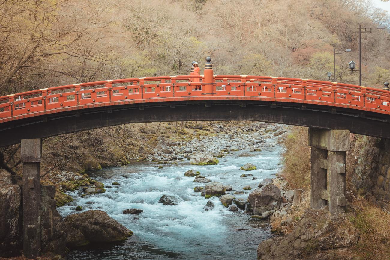 Shinkyo Bridge, Nikko, Japan. Photo©www.thingstodot.com.