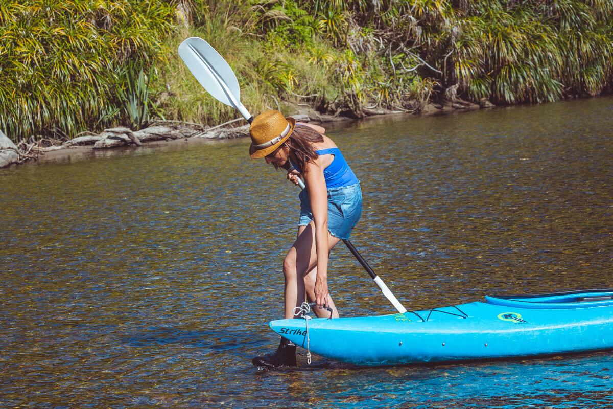 Pororari river kayaking, New Zealand South Island (west coast). Photo©www.thingstodot.com