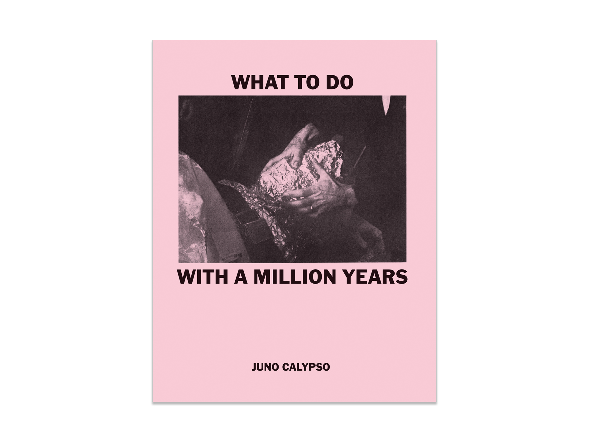 This booklet is published on the occasion of                                            ' What To Do With A Million Years' solo exhibition at TJ Boulting , May 2018 .