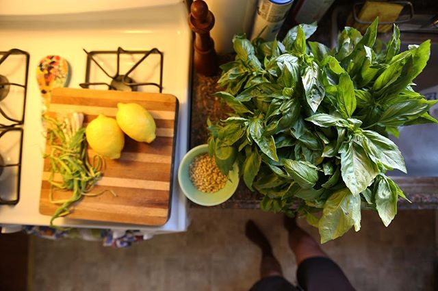 When basil is 10 bunches for $15 🌿