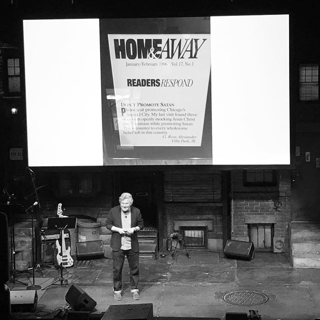 DON'T PROMOTE SATAN. -Kelly Leonard at #TEDxBway