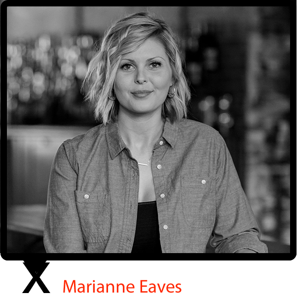 """Marianne Eaves  was born in Tennessee and raised in Kentucky, so geography alone may have been telling Eaves that her destiny was to be a whiskey maker. However, it was the courage to buck tradition, her creative engineering mind and a voracious appetite for learning that actualized her place in history as Kentucky's First Female Master Distiller.  Whiskey Advocate  listed Eaves as """"the Next Generation"""" for the bourbon industry, and she has been honored by  Forbes  in the 2015 Food & Drink 30 under 30 list. Eaves has also garnered recognition by  Wine Enthusiast  as one of America's Top 40 Under 40 Tastemakers."""