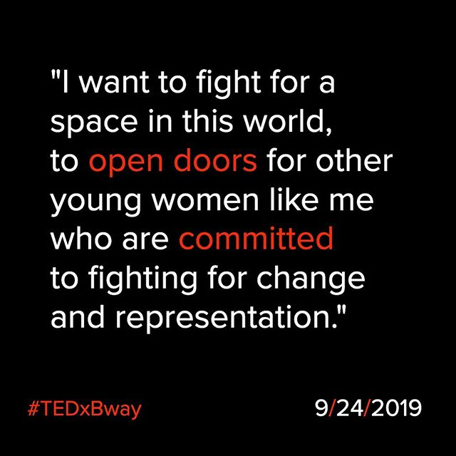 From one of our TEDxBroadway Young Professionals.  Come join the conversation Tuesday, September 24 at New World Stages.  #TEDxBway #broadway #theatre #bigideas