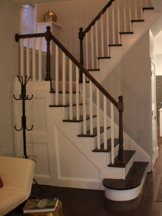 After: Stairs