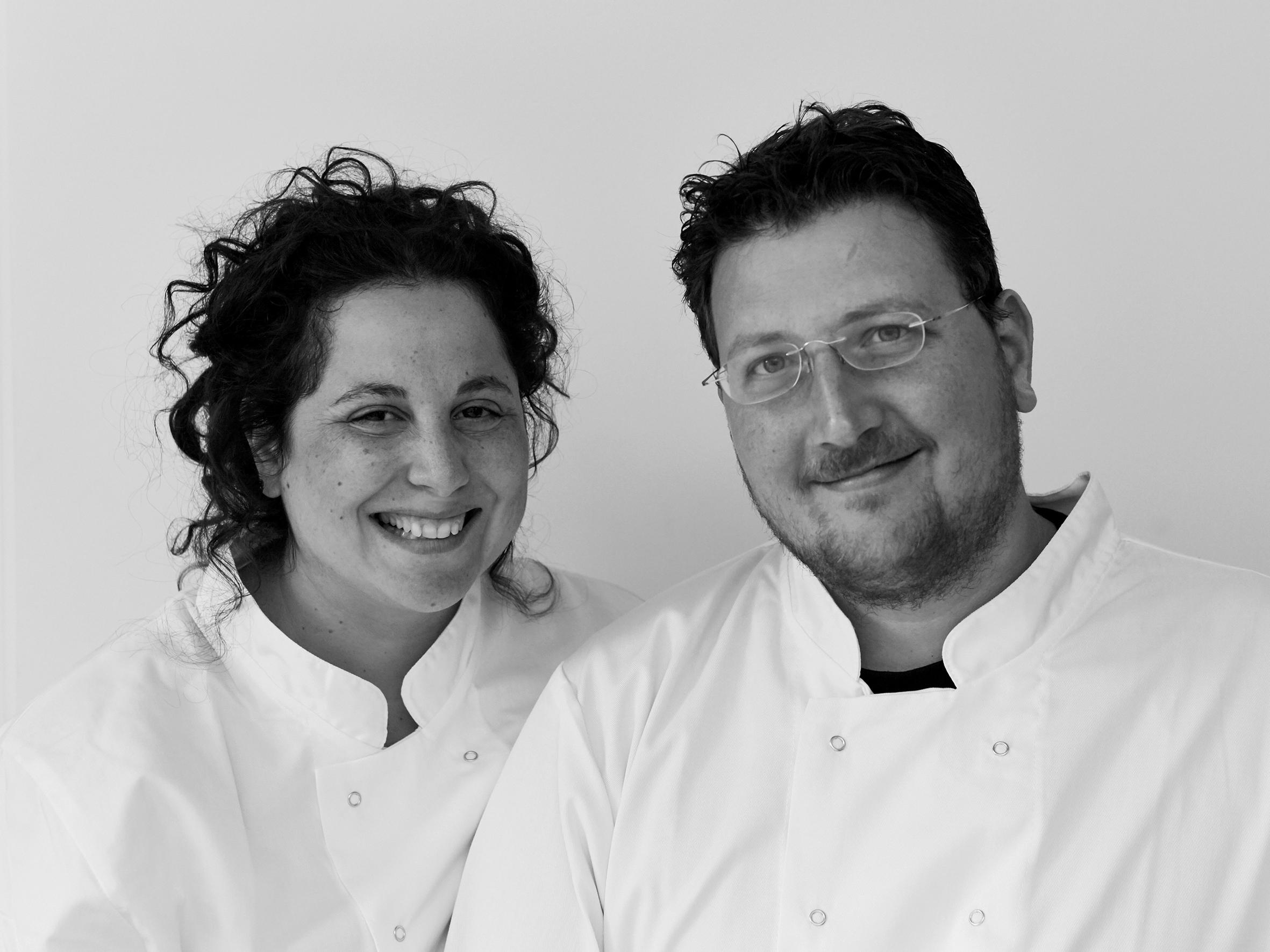 Sarit Packer and Itamar Sruvolich of Honey & Co