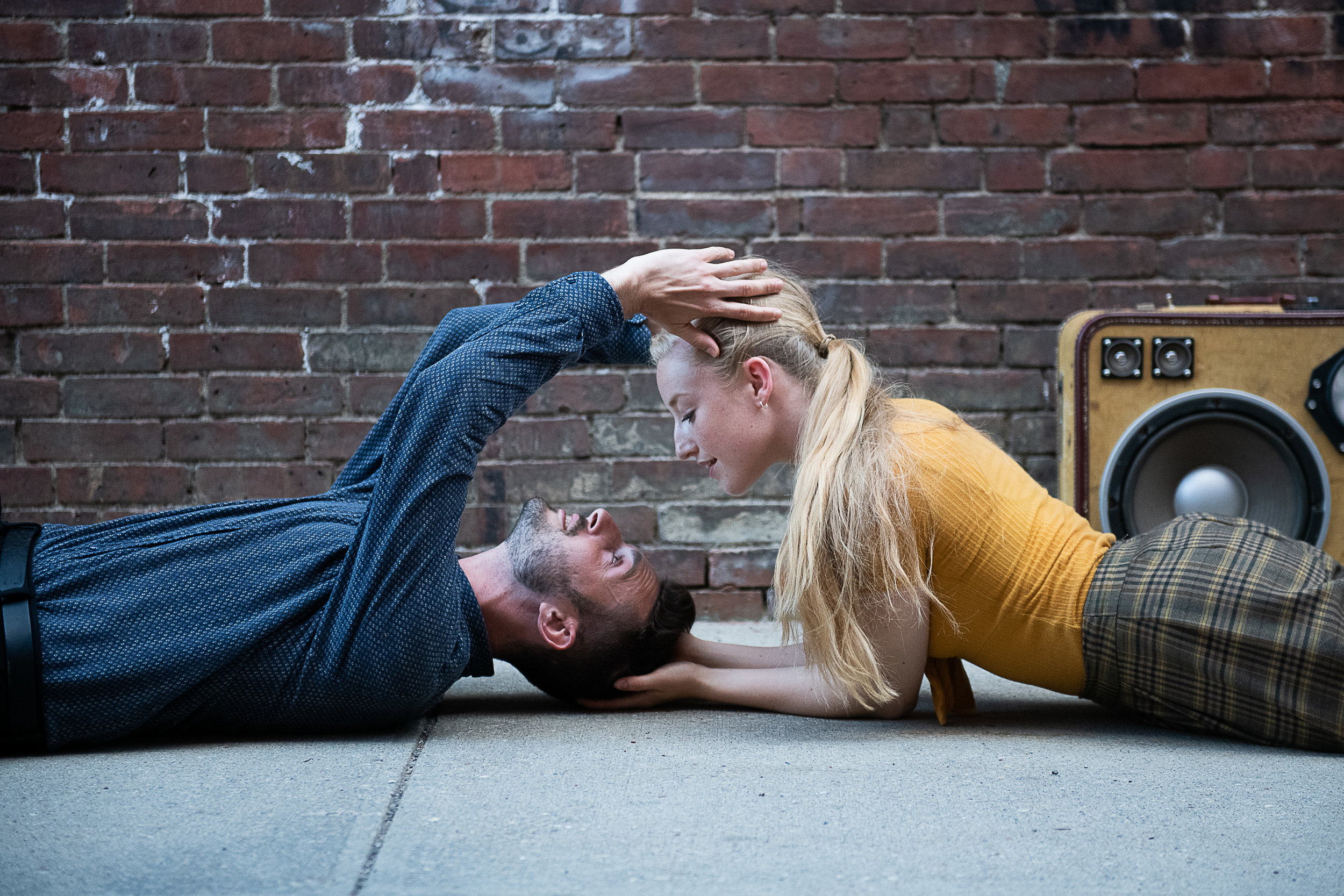 Amy Hollinshead & Al Garo in Janis Claxton's POP-UP Duets Photo ©Christopher Duggan