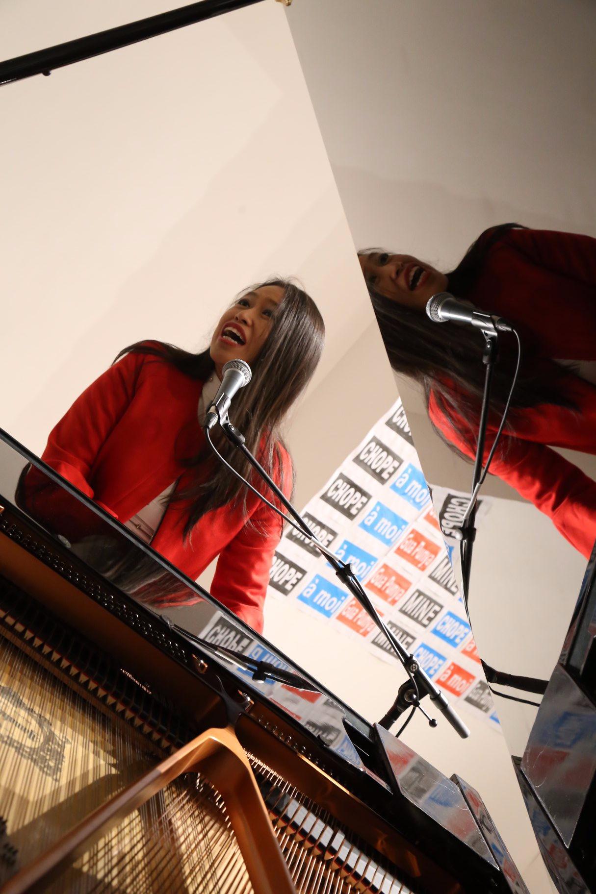 Jazz singer/songwriter/musician Michelle Poh