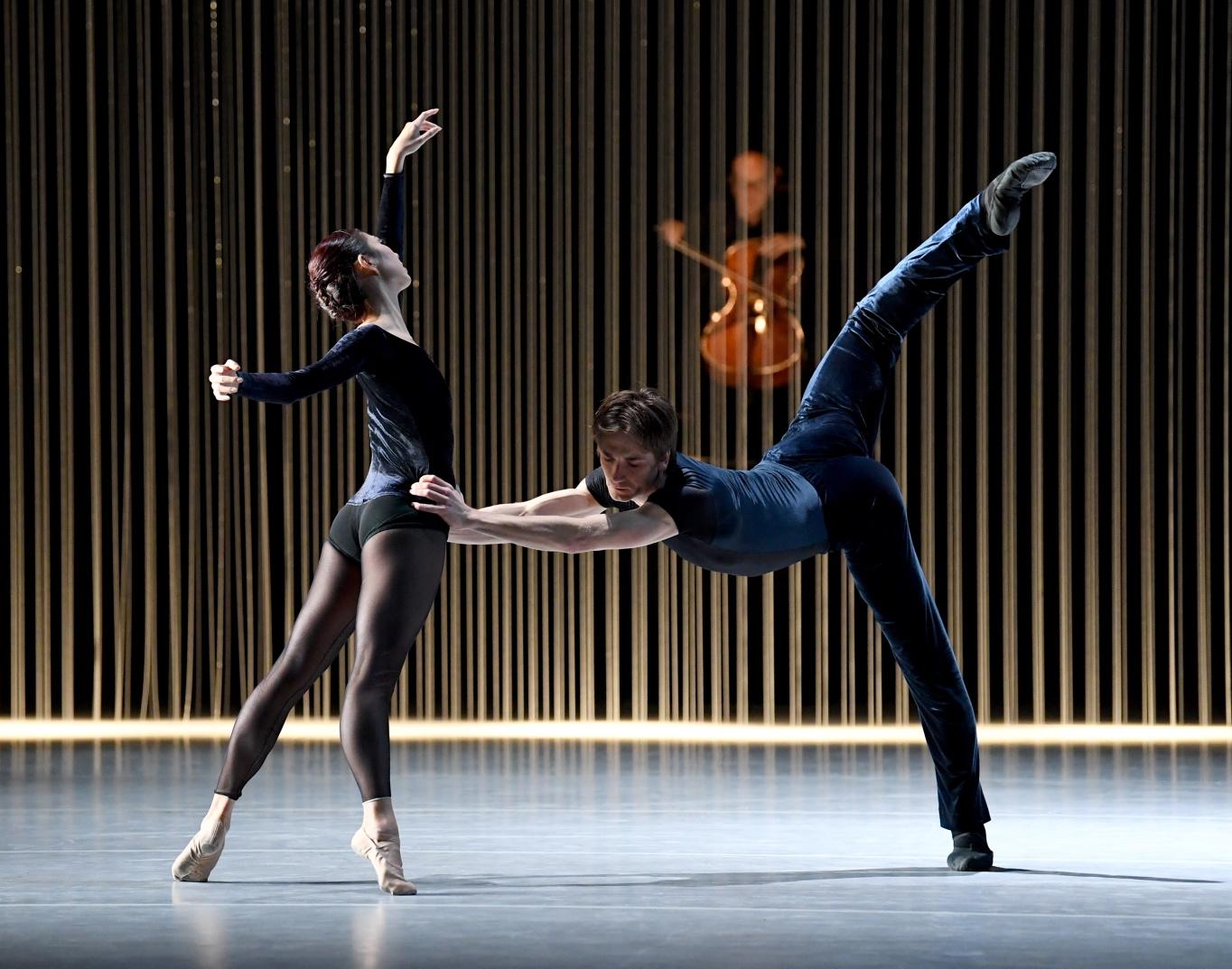 Friedemann Vogel and Agnes Su ©Stuttgart Ballet
