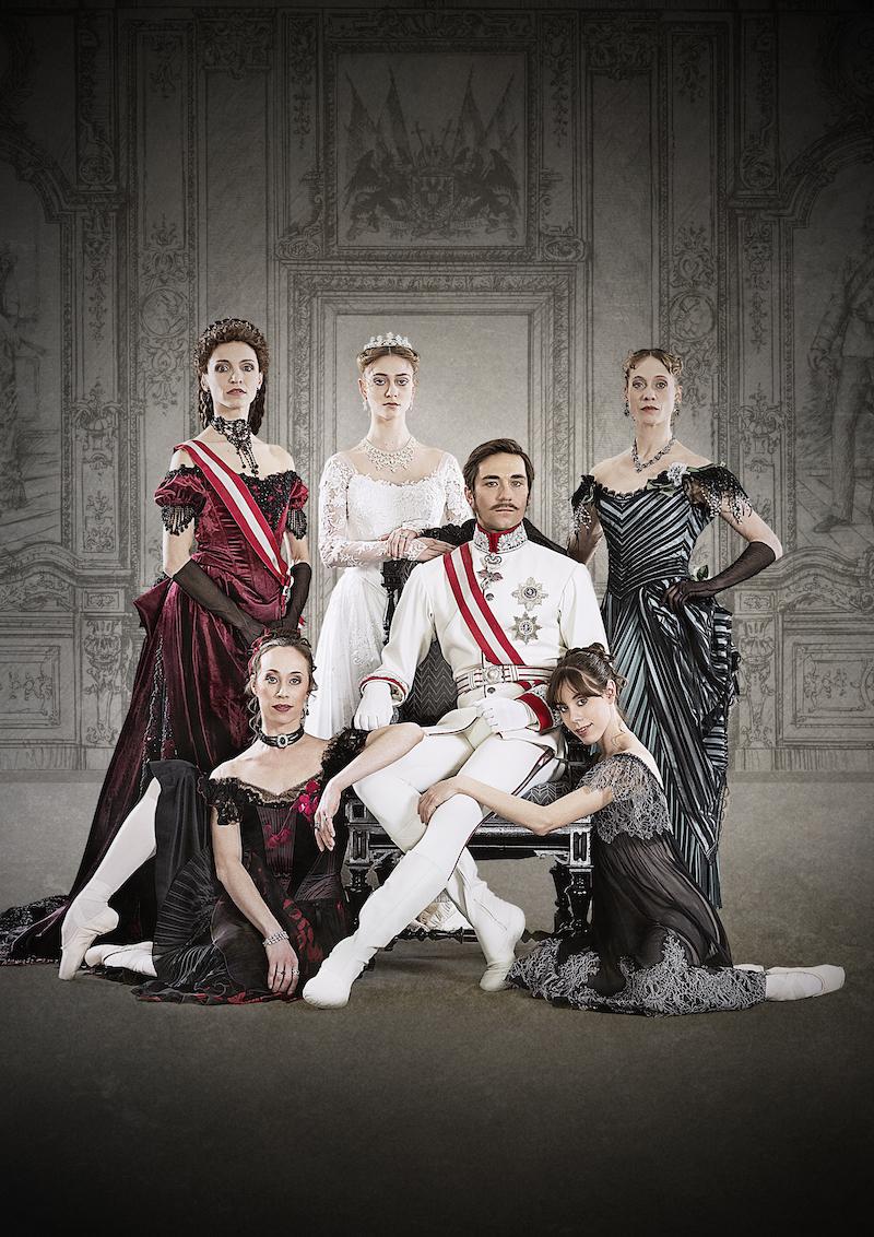 """Kennth MacMillan's """"Mayerling"""" featuring Friedemann Vogel as Crown Prince Rudolf ©Roman Novitzsky Stuttgart Ballet"""