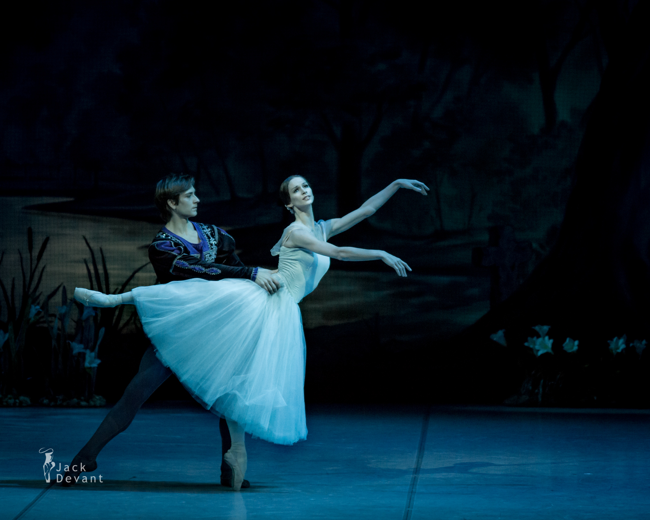 Friedemann Vogel with Polina Semionova in Giselle