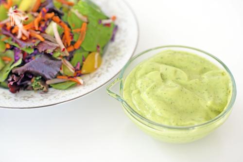 3 salad dressings avocado