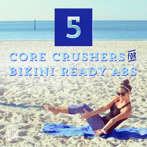With the added temptations of the holidays, it's easy to let ourselves go, but with these five core crushes, you can keep your bikini ready belly all year round. When you're working hard to keep sculpted abs, it might be just a little easier to pass on holiday treats and reach for healthier options instead.