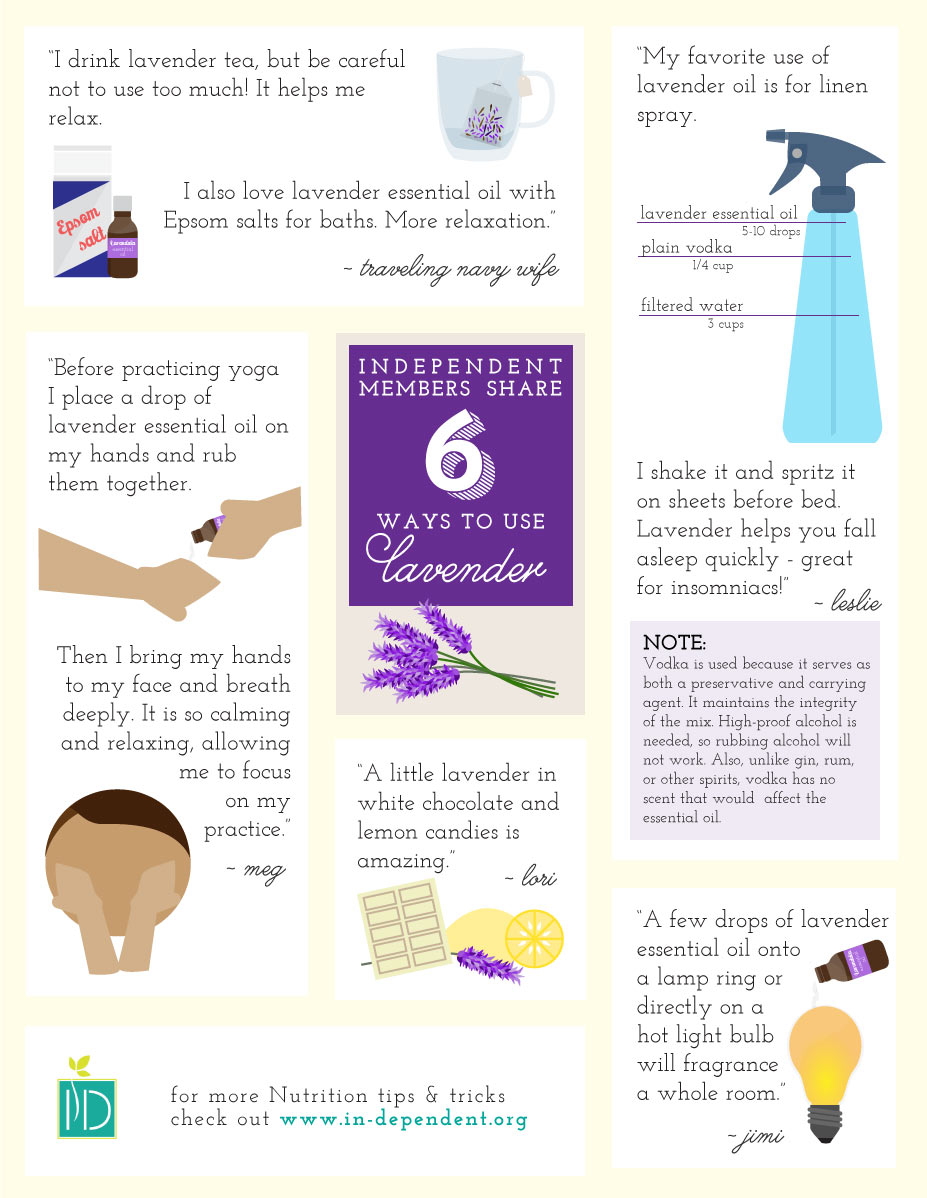 6 ways to use lavender