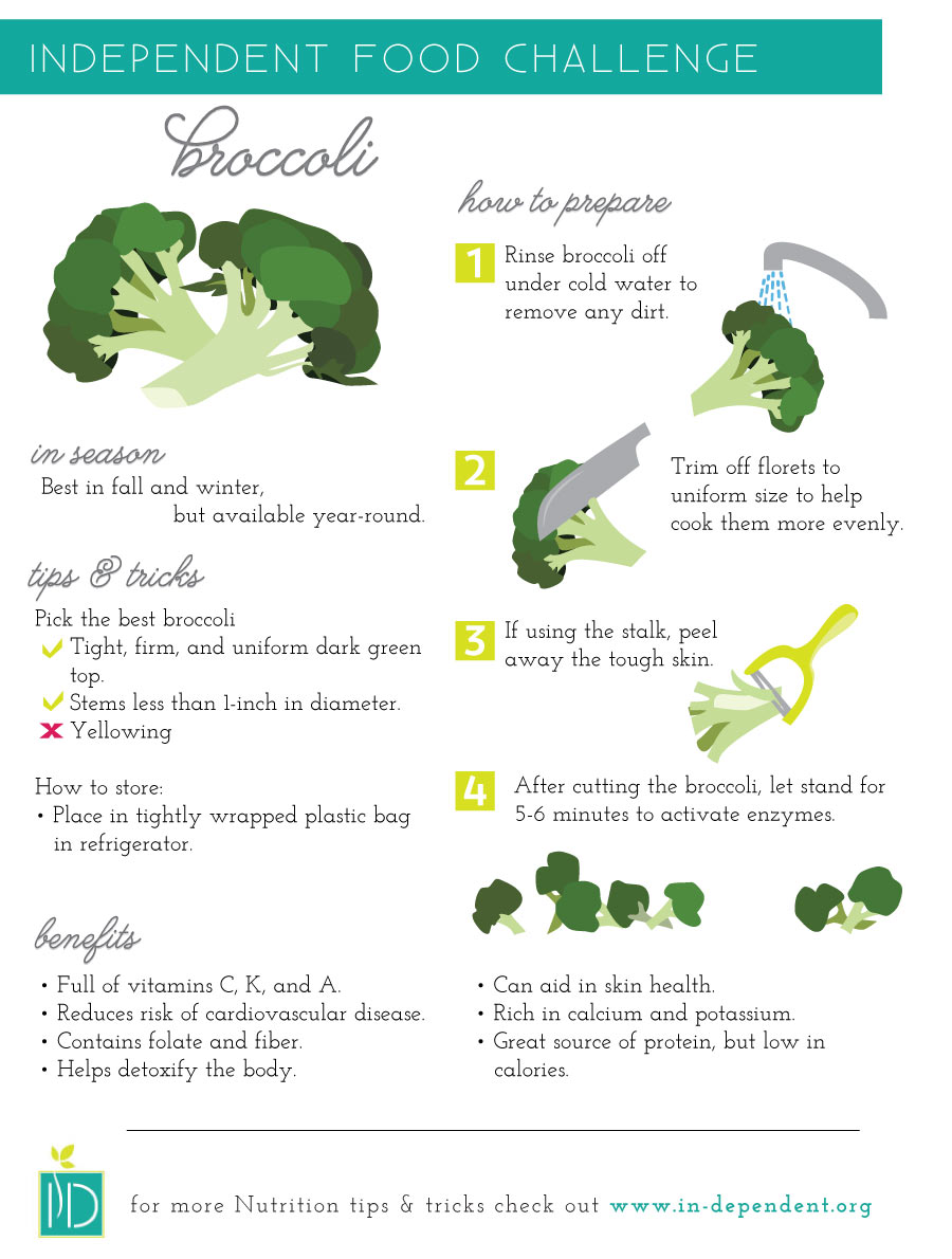 How to prepare Broccoli