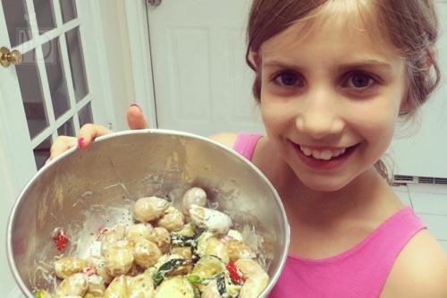 Sophia's Potato Salad with Greek Yogurt Dressing