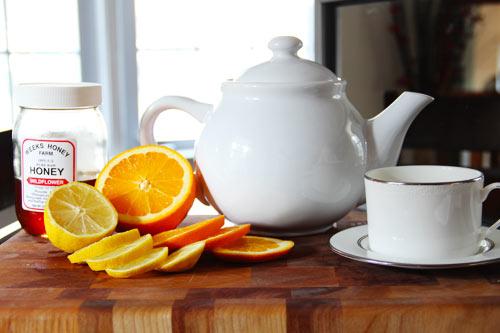 Get Well Honey Tea