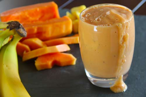 Sweet Papaya Smoothie
