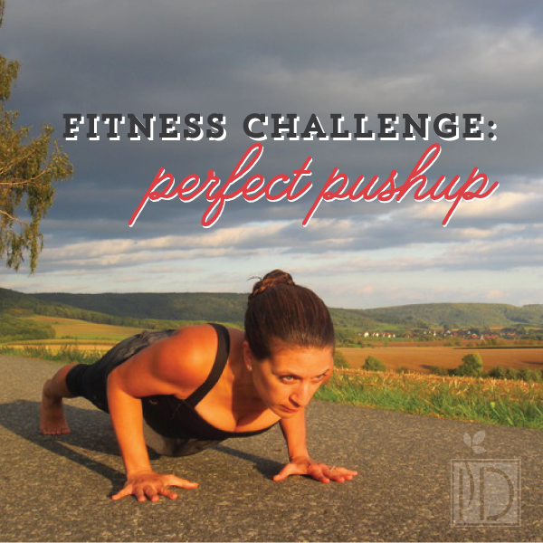 Fitness challenge: perfect pushup