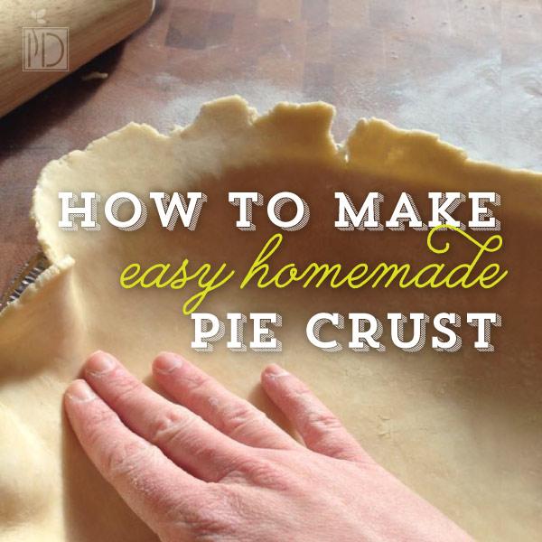 How to make Homemade Pie Crust