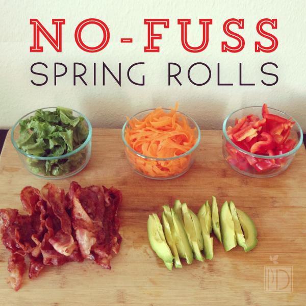 No-Fuss Spring Rolls