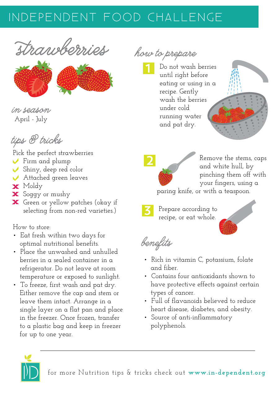 How to prepare Strawberries