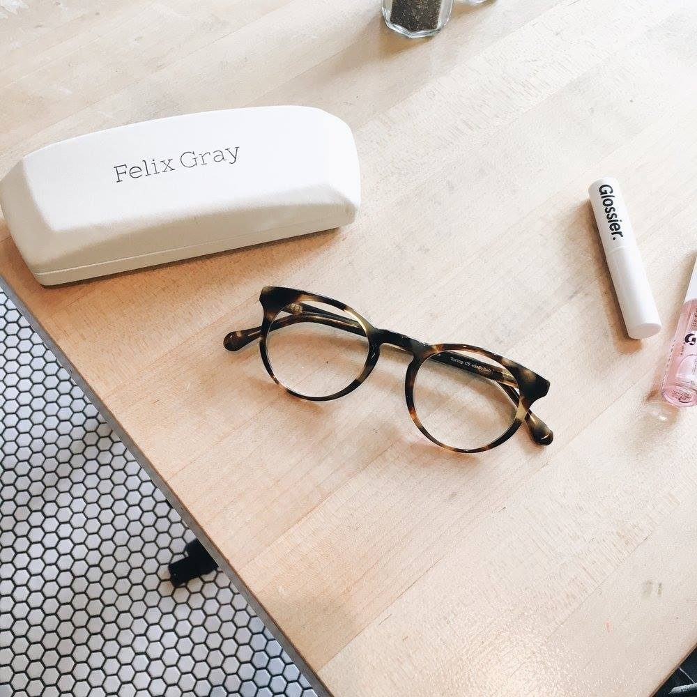 Anti Eye-Strain Computer Glasses  - courtesy of Felix Gray