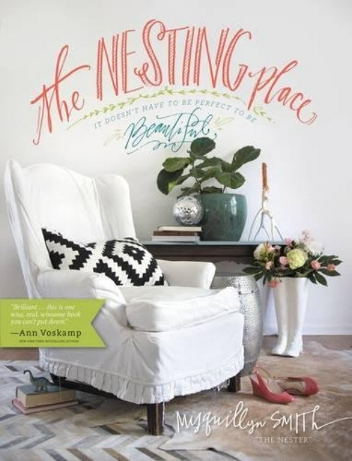 The Nesting Place: It Doesn't Have to Be Perfect to Be Beautiful by Myquillyn Smith - Topics: PCSing, HomePopular blogger and self-taught decorator Myquillyn Smith (The Nester), helps readers accept and find beauty in imperfection, and find the freedom to take risks to create the home—and life—they've always wanted. This beautiful four-color book is full of photos and creative, easy ideas for arranging, decorating, and building a welcoming home. Drawing on her years of experience creating beauty in her 13 different homes, Myquillyn will show you how to think differently about the true purpose of your home and simply and creatively tailor it to reflect you and your unique style—without breaking the bank or stressing over comparisons.