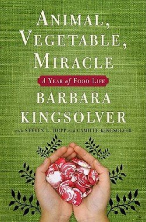 Animal, Vegetable, Miracle: A Year of Food Life by Barbara Kingsolver and Camille Kingsolver - Topics: Health, WellnessPart memoir, part journalistic investigation, Animal, Vegetable, Miracle is an enthralling narrative that will open your eyes in a hundred new ways to an old truth: You are what you eat.Author Barbara Kingsolver and her family abandoned the industrial-food pipeline to live a rural life—vowing that, for one year, they'd only buy food raised in their own neighborhood, grow it themselves, or learn to live without it.