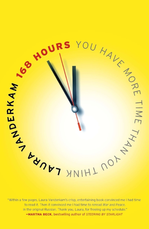 168 Hours: You Have More Time Than You Think by Laura Vanderkam - Topics: Time-Management, Balancing LifeIt's an unquestioned truth of modern life: we are starved for time. We tell ourselves we'd like to read more, get to the gym regularly, try new hobbies, and accomplish all kinds of goals. But then we give up because there just aren't enough hours to do it all. Vanderkam shows that with a little examination and prioritizing, you'll find it is possible to sleep eight hours a night, exercise five days a week, take piano lessons, and write a novel without giving up quality time for work, family, and other things that really matter.