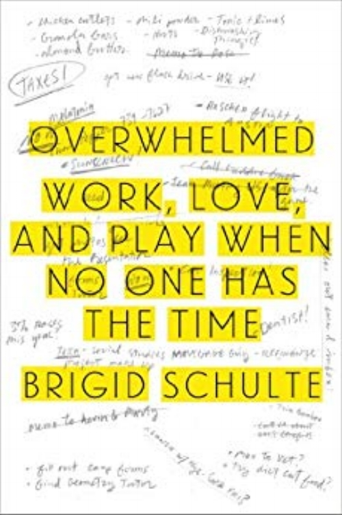 Overwhelmed: Work, Love, and Play When No One Has the Time by Brigid Schulte - Topics: Time Management, Self-careOverwhelmed is a book about time pressure and modern life. Author Brigid Schulte, began the journey quite by accident, after a time-use researcher insisted that she, like all American women, had 30 hours of leisure each week. Stunned, she accepted his challenge to keep time diary and began a journey. Along the way, she was driven by two questions, Why are things the way they are? and, How can they be better? The book both outlines the structural and policy changes needed and mines the latest human performance and motivation science to show the way out of the overwhelm and toward a state that time use researchers call... Time Serenity.Click here to read book review.