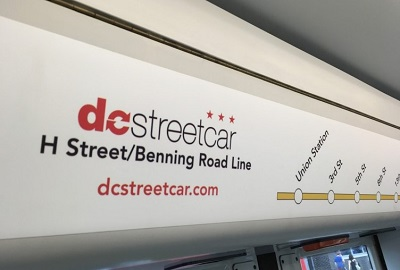 The DC streetcar connects to nothing, it is a transit orphan. Photo by the author.
