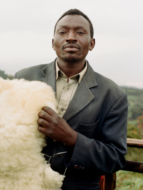 Joseph // sheepskin vendor in The Rift Valley, Kenya