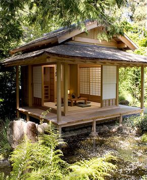 Japanese Tea House, image via Pinterest