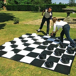 bayside wi life size checkers rental