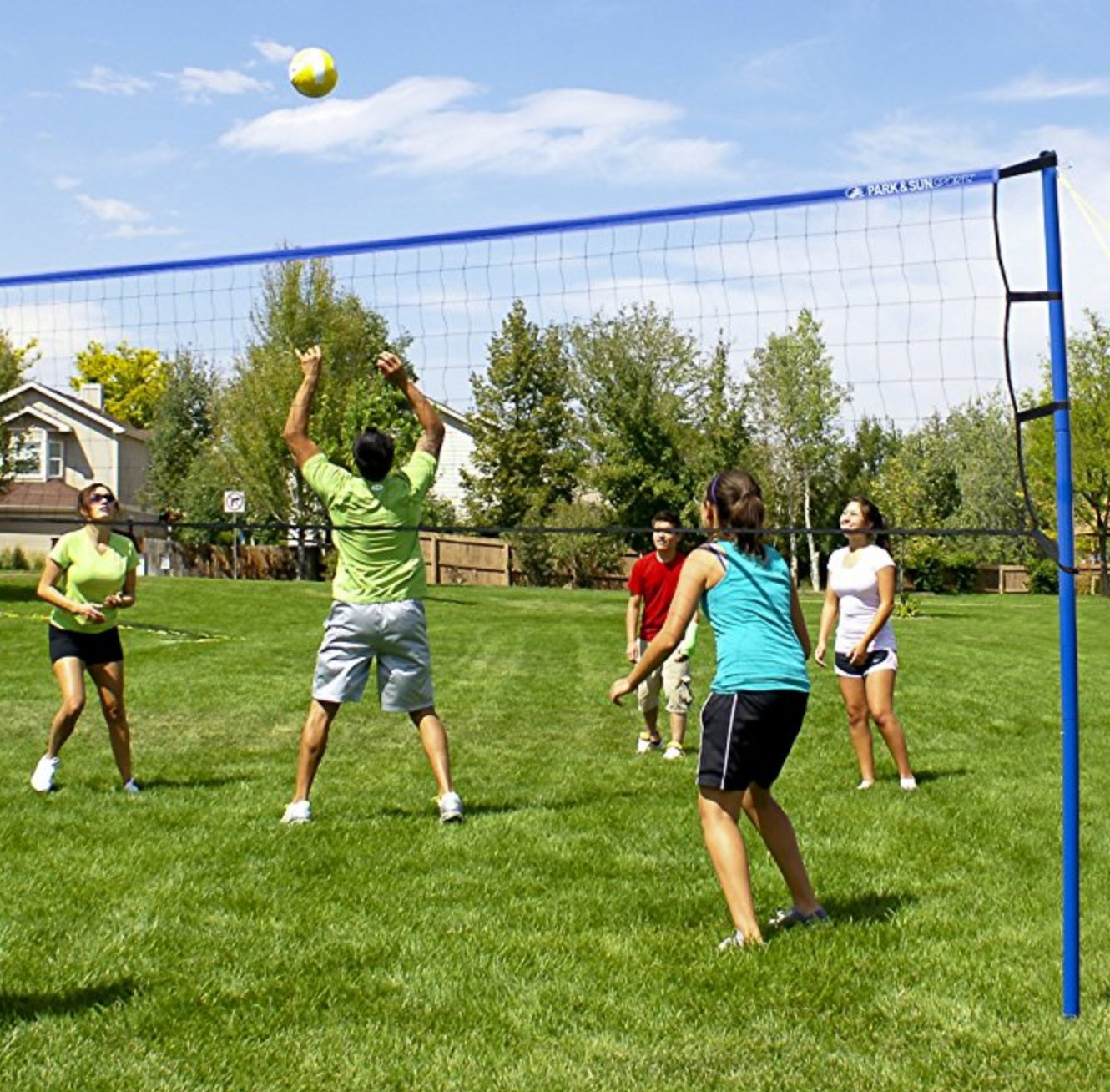 milwaukee volleyball net game rental