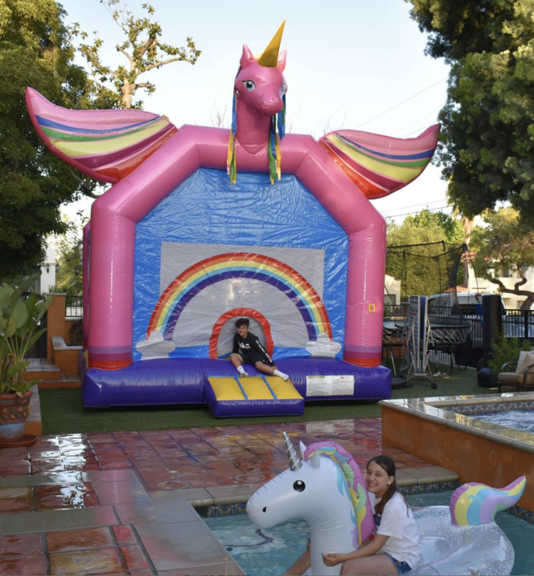Milwaukee Waukesha Unicorn Bounce House Rental