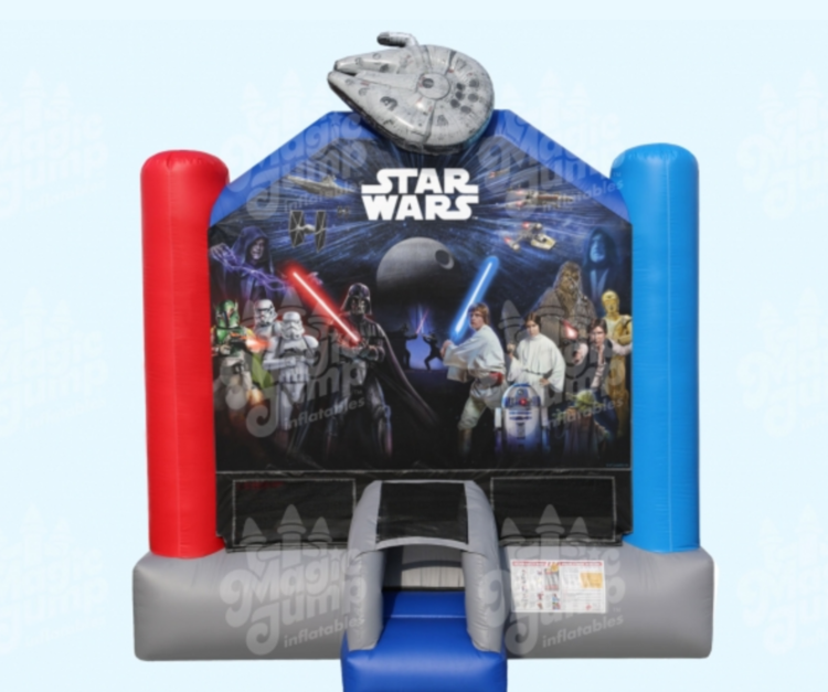 Star Wars Bounce House Rental, Madison, Milwaukee, Waukesha, Pewaukee, Wisconsin
