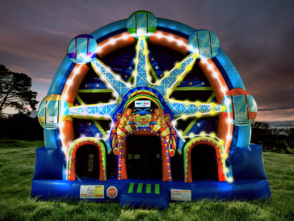Ferris Wheel combo inflatable in Milwaukee, Madison, Greenfield, Hales Corners, and Pewaukee, Wisconsin
