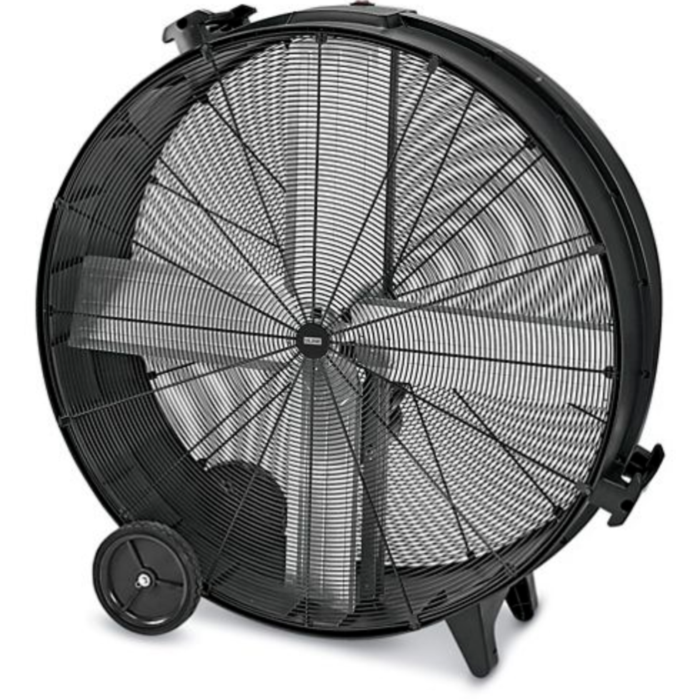 Large Drum Fan rental in Brookfield, Milwaukee, Waukesha, Madison, and Wisconsin