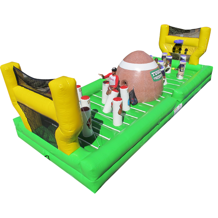 Milwaukee football game inflatable for rent in Madison, Brookfield, and Mequon. Wisconsin.