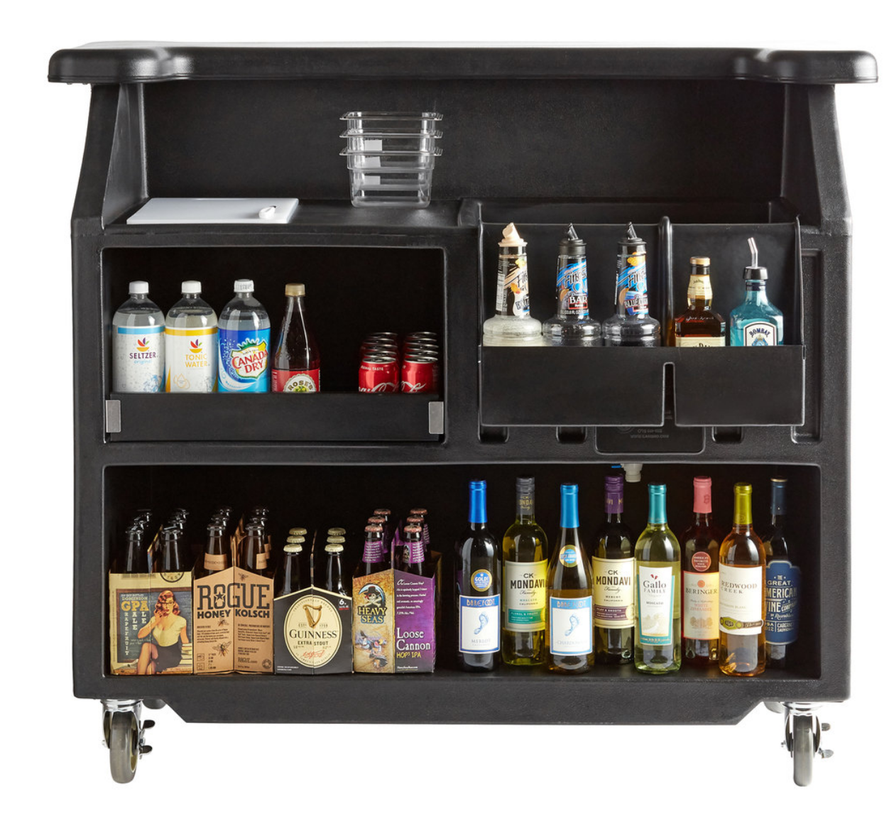 Portable bar rental in Milwaukee, Madison, Appleton, Green Bay, Waukesha, and Muskego Wisconsin