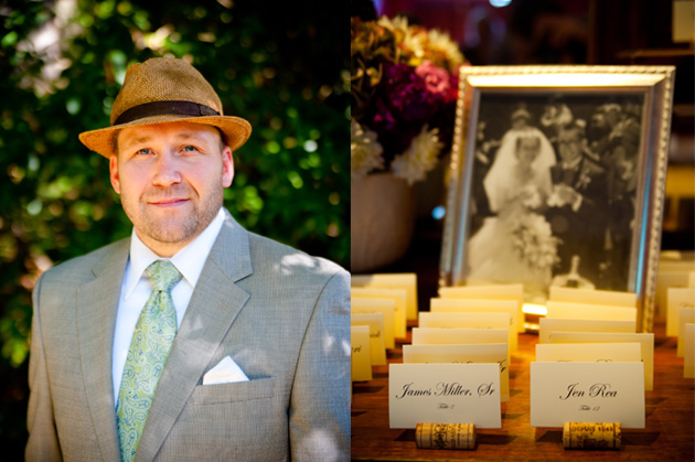 Portrait of Officiant at Montclair Women's Club by Oakland Wedding Photographer, e&b photography