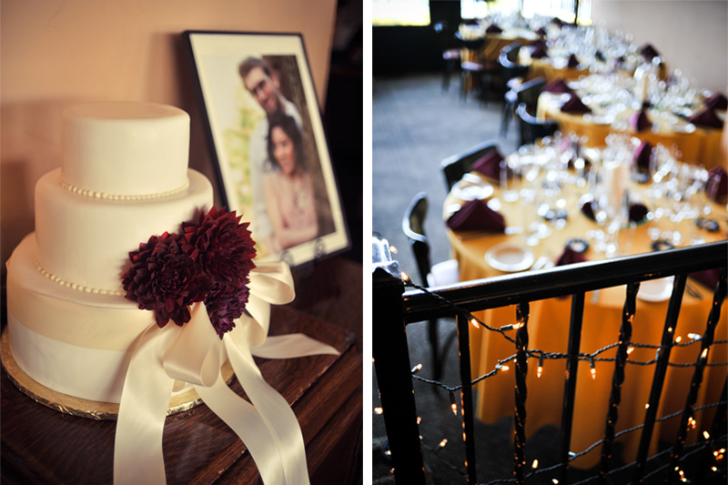 Wedding details at the Terrace Room in Oakland